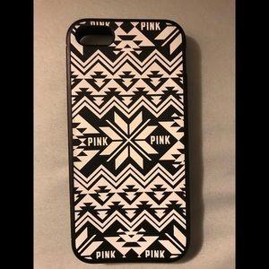 Pink (victoria's secret) iphone 5s case